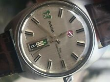 Rado New Green Horse Automatic Day Date Authentic vintage mens watch excellent