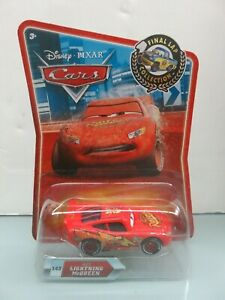 Disney Pixar Cars Wet Lightning McQueen #143 Final Lap Die-Cast Metal Mattel