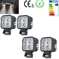 4X 12W Barra de luz de trabajo LED faro Offroad Lámpara Car Truck 4WD SUV ATV