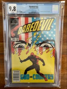 Daredevil 232 Newsstand CGC 9.8 First Appearance