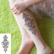High Quality 19cm x 9cm Fake Temporary Tattoo Mandala Design Arm Tattoo /-b460-/