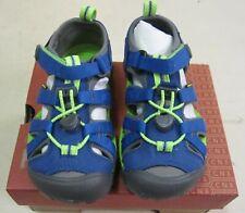 KEEN NEW Boys Size 10 US Blue Green Sport Athletic Hiking Sandals NIB