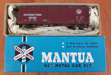 Mantua All Metal Kit Circa 1950 Box Car Baltimore & Ohio built OB