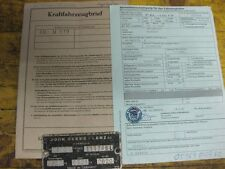 John Deere 510 Fahrzeugbrief  KFZ - Brief