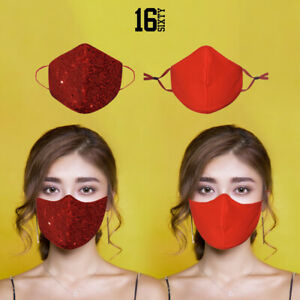Face Mask Washable UK Reusable  Valentines Day  Mouth Nose Breathable Protection