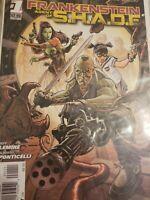 DC comics New 52 Frankenstein Agent Of Shade #1-8 Lot Jeff Lemire