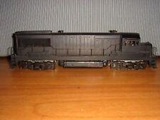 Modell von 1969, ALCO ® Lokomotive H0 D-113 PENNSYLVANIA GE U-25B Messing Allrad