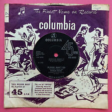 Donald Peers - Please Don't Go / I've Lost My Love - Columbia DB-8502 Ex