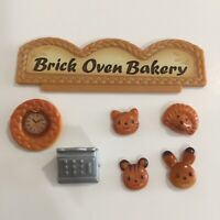Calico Critters Sylvanian Families Brick Oven Bakery Replacement Sign Register