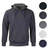 Men's Premium Athletic Drawstring Fleece Lined Sport Gym Sweater Pullover Hoodie