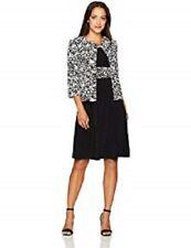 570f8f85901 Jessica Howard Petite Midi Dress   Printed Jacket Size 10P  C546  109.00