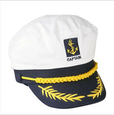Sailor Ship Boat Captain Hat Navy Marins Admiral Adjustable Cap