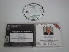 BRAHMS, STRAUSS/PIANO CONCERTO NO.1, BURLESKE - R. SERKIN(CBS MK 42261) CD ALBUM