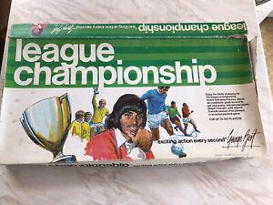League Championship Board Game Vintage 1970s - See description