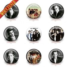 9 pcs One Direction Buttons Pins Badges,30mm Diameter