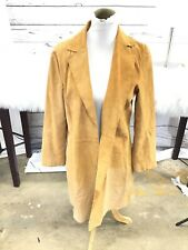 Coldwater Creek soft Leather Jacket women's size small