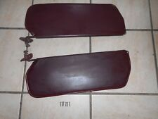 81-87 CHEVY GMC TRUCK  MAROON/BURGUNDY COLOR SUNVISOR RIGHT AND LEFT OEM