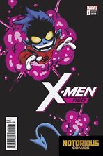 X-Men Red #1 Skottie Young Variant Marvel Comics 1st Print 02/07