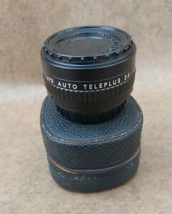 APS Auto Teleplus 2 x Converter M42 Mount + Leather Case, Made in Japan
