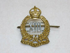 Original Wwi New Zealand Army 13th North Canterbury Regiment Cap Badge