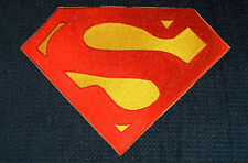 Superman Embroidered Chest Emblem Logo Cosplay Christopher Reeve version