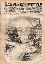 1878 Harpers Weekly February 23 - Democrats and Silver lost in inflation;Pius IX