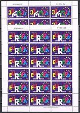 Europa Sympathy 1999 Georgië vellen 318-319  toetreding Raad van Europa CW € 80