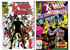 X-Men and the Micronauts #1-4 Limited Series (1983) Marvel VF/NM to NM-