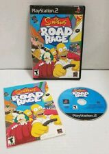 The Simpsons Road Rage Sony Playstation 2 Ps2 Video Game Complete Tested Works