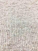 Carpet Remnant Roll End Heavenly Linen Light Beige Wool Loop Pile 5x4m 50% OFF