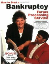 How to Start a Bankruptcy Forms Processing Service by Victoria Ring