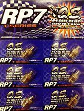 O.S. Glow Plug RP7 (6 pcs)