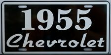 1955 55 CHEVROLET LICENSE PLATE CHEVY 150 210 BEL AIR NOMAD CONVERTIBLE GASSER