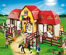Playmobil 5221 Country - Large Horse And Pony Farm With Paddock Play Set **NEW**