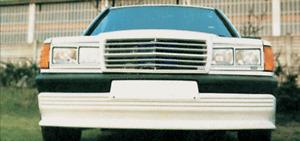 Frontspoiler Spoiler Lippe Ansatz Diffusor für Mercedes W201 190 -6/1988 PP2249