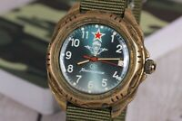 Wrist watch Vostok Komandirskie, Vintage watch, Soviet Watch, Military watch