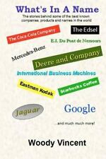 What's in a Name : The Stories Behind Some of the Best Known Companies,...
