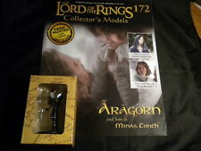 Lord of the Rings Figures - Issue 172 Aragorn and son at minas tirith eaglemoss