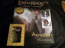Señor de los anillos figuras-Edición 172 Aragorn e hijo en Minas Tirith EAGLEMOSS