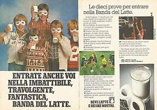 X0791 Bevi Latte e sei dei nostri - Pubblicità del 1979 - Vintage advertising