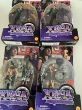 Toy Biz, Lot Of 4, Xena Warrior Princess, 6 Inch Figures, as seen on Tv