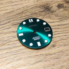 MM300 Dial for Seiko SKX007, MARINEMASTER 300, Green, HULK Mod fits NH35, C3Lume