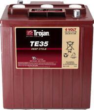 1x Batterie 6V Blockbatterie ORIG TROJAN TE35 Stapler Hebebühne