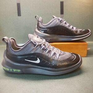Nike Air Max Axis Premium Men Athletic Shoes,Grey/Green/Silver, AA2148-009, Sz 6