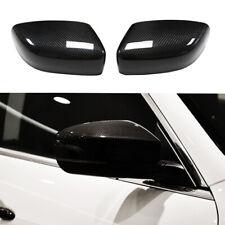 Real Carbon Fiber Car Side Mirror Cover Caps For Maserati Quattroporte Ghibli
