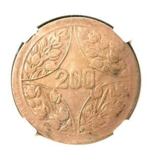 RARE 1926 CHINA Ming GUO 15 Year 200 Cash Copper Coin Ø35mm(+FREE1 coin)#16490