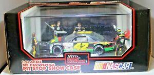 #42 Kyle Petty Diecast Mello Yello 1:24 Scale Pit Stop Showcase In Box