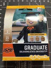 Oyo Sports Minifigure Oklahoma State University OSU Graduate Alumni Lego Female