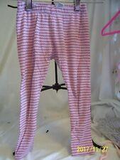TEA leggings  red wavy stripe  size 4T  preowned