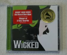 Wicked A New Musical Original Broadway Cast Recording CD